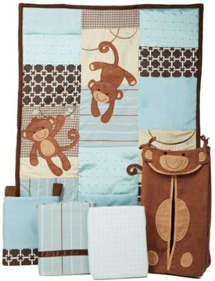 Lambs & Ivy Luxury Giggles Bedding Set (Pack of 5 Pieces)