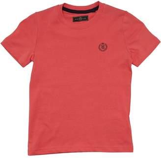 Henri Lloyd Boys Radar T-Shirt Calypso Coral
