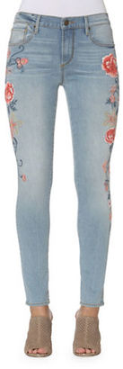 Driftwood Jackie Side Embroidered Jeans $128 thestylecure.com