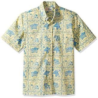 Reyn Spooner Men's Lahaina Sailor Spooner Kloth Classic Fit Hawaiian Shirt