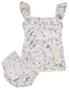 Splendid Baby Girl's Printed Dress Set