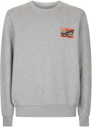Burberry Graffiti Logo Sweatshirt
