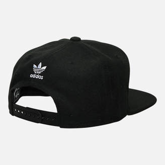 0e0373e5b6509 best price at finish line adidas trefoil snapback hat 7ae04 6cded