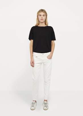 R 13 Boy Skinny Jean White Riot