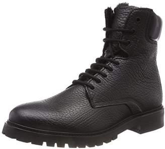 HUGO Men's Explore_halb_gr Combat Boots, (Black 001)