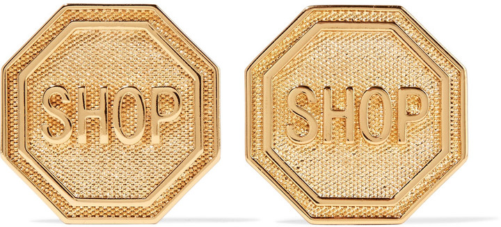 Moschino Moschino Gold-tone earrings