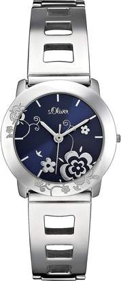 S'Oliver Women's Quartz Watch SO-2181-MQ with Metal Strap