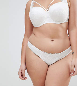 Asos BRIDAL Imogen Multiway Lace Thong