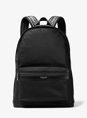 Michael Kors Kent Logo Tape Nylon Backpack