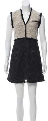Rachel Zoe A-Line Zip-Up Dress