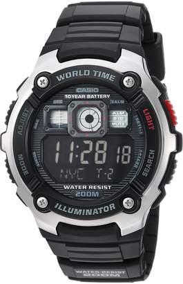 Casio Men's AE-2000W-1BVCF Classic Digital Display Quartz Black Watch