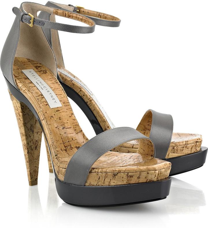 Stella McCartney Cork platform sandals