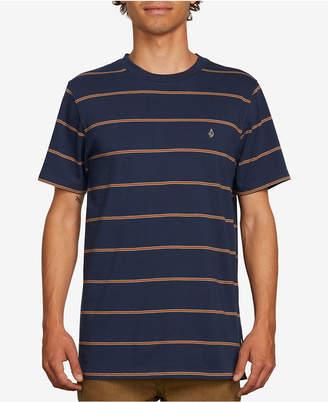 Volcom Men Striped T-Shirt