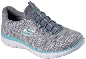 Skechers Summits Lght Womens Training Shoes Slip-on