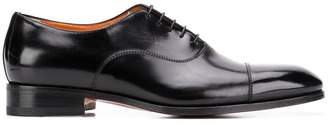 Santoni lace-up derby shoes