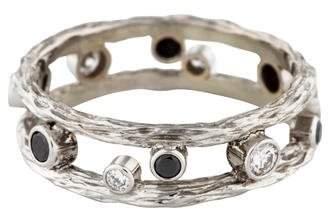 Sarah Graham 18K Diamond Pebbles Ring