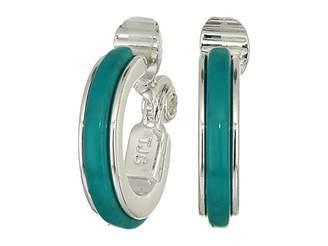 Lauren Ralph Lauren Clip Hoop Earrings