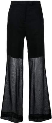 Yang Li elegant wide trousers