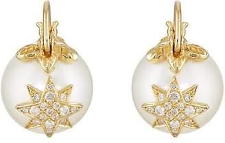 Samira 13 Women's Starburst Pearl Earrings