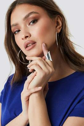 Na Kd Accessories Two Asymmetric Chunky Rings Gold