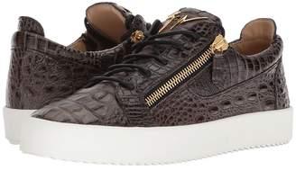 Giuseppe Zanotti May London Stamped Low Top Sneaker