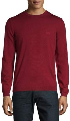 BOSS Crewneck Wool Sweater