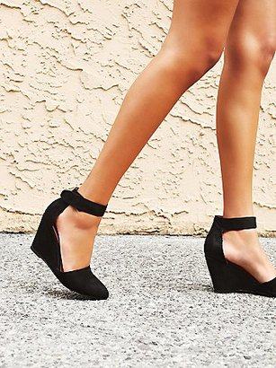 Peaks Point Wedge by Jeffrey Campbell at Free People $138 thestylecure.com