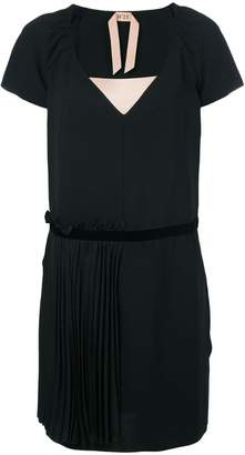 No.21 V neck dress