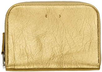 Pb 0110 Gold Zip Wallet