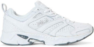 Fila White Capture Leather Running Sneakers
