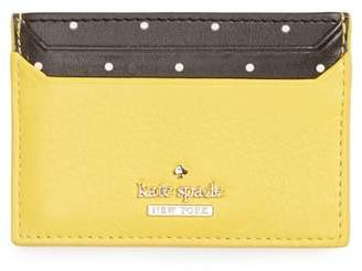 Kate Spade Blake Street - Dot Lynleigh Leather Card Case