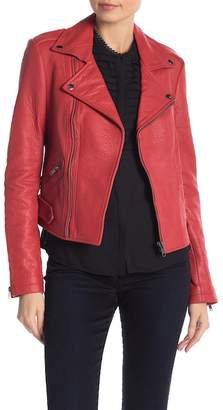 Rebecca Minkoff Wolf Leather Moto Jacket