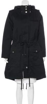 Marc by Marc Jacobs Hooded Long Coat
