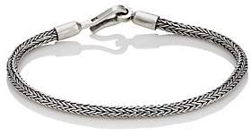 SPIGA Caputo & Co Men's Sterling Silver Chain Bracelet - Silver