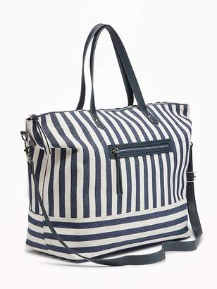 Old Navy Canvas Weekender Tote for Women