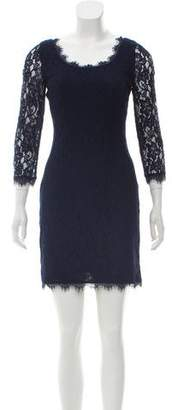 Diane von Furstenberg Scoop Lace Dress