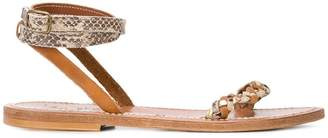K. Jacques teddy sandals