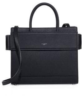 Givenchy Horizon Small Grained Leather Satchel