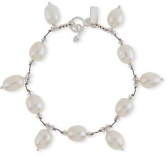 Margo Morrison Multi-Pearl Dangle Bracelet