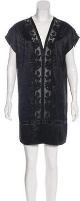 3.1 Phillip Lim Satin Lace-Trimmed Dress