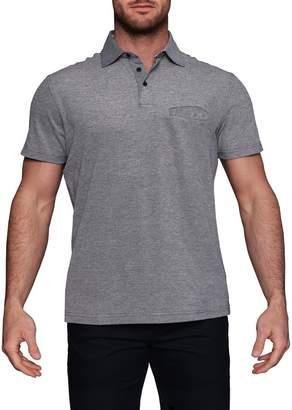 Tailorbyrd Birdseye Pattern Short Sleeve Polo