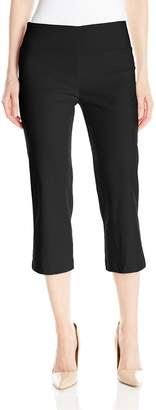 Tribal Women's Flatten It Pull-On Capri Pant