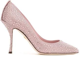 b9cff3f394fc Dolce   Gabbana crystal embellished pumps