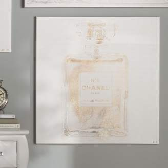Willa Arlo Interiors 'Basenote is Champagne Fashion Art' Wrapped Canvas Print