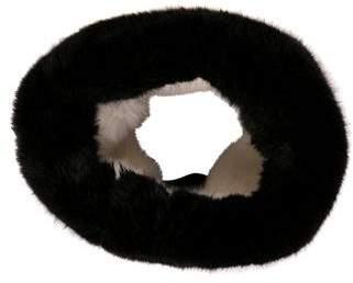 Emporio Armani Faux Fur Muffler