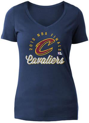 5th & Ocean Women's Cleveland Cavaliers Finals Bound Glitter T-Shirt
