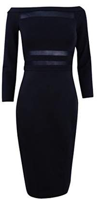 Rachel Roy Women's Off The Shoulder Midi Dress