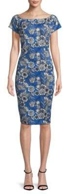 Alexia Admor Floral-Print Bodycon Dress