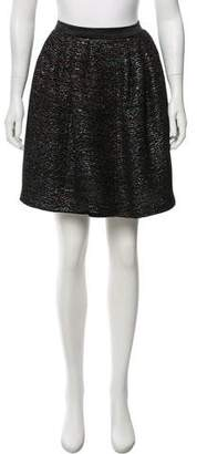 Peter Som Embellished Knee-Length Skirt