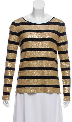 Calypso Sequin Long Sleeve Top